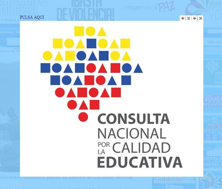Primeras notas sobre la consulta educativa nuevos for La pagina del ministerio