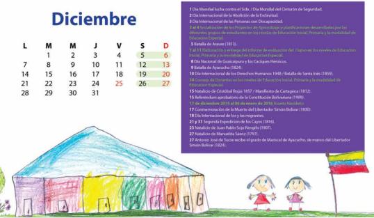 calendario primaria