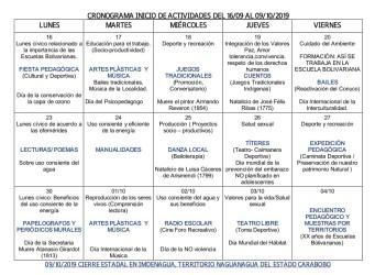 Información recogida por Padres Organizados en Carabobo